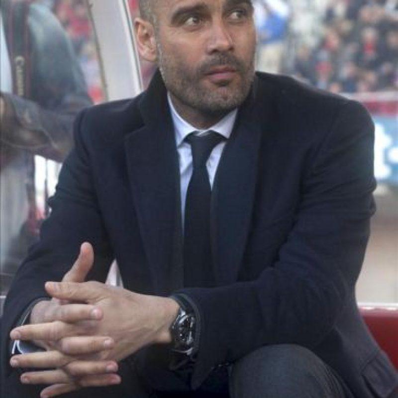 El entrenador del FC Barcelona, Pep Guardiola. EFE