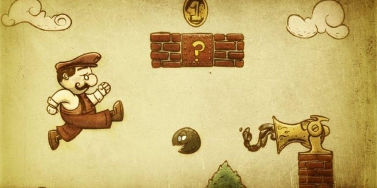 Mario Bros se reinventa en 50 imágenes