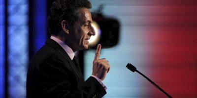 El presidente de Francia, Nicolás Sarkozy. EFE