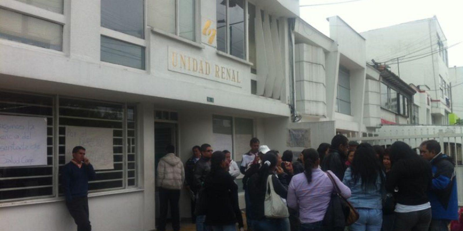 La unidad renal les informó a los pacientes que no los atenderían más a partir del 1 de abril.
