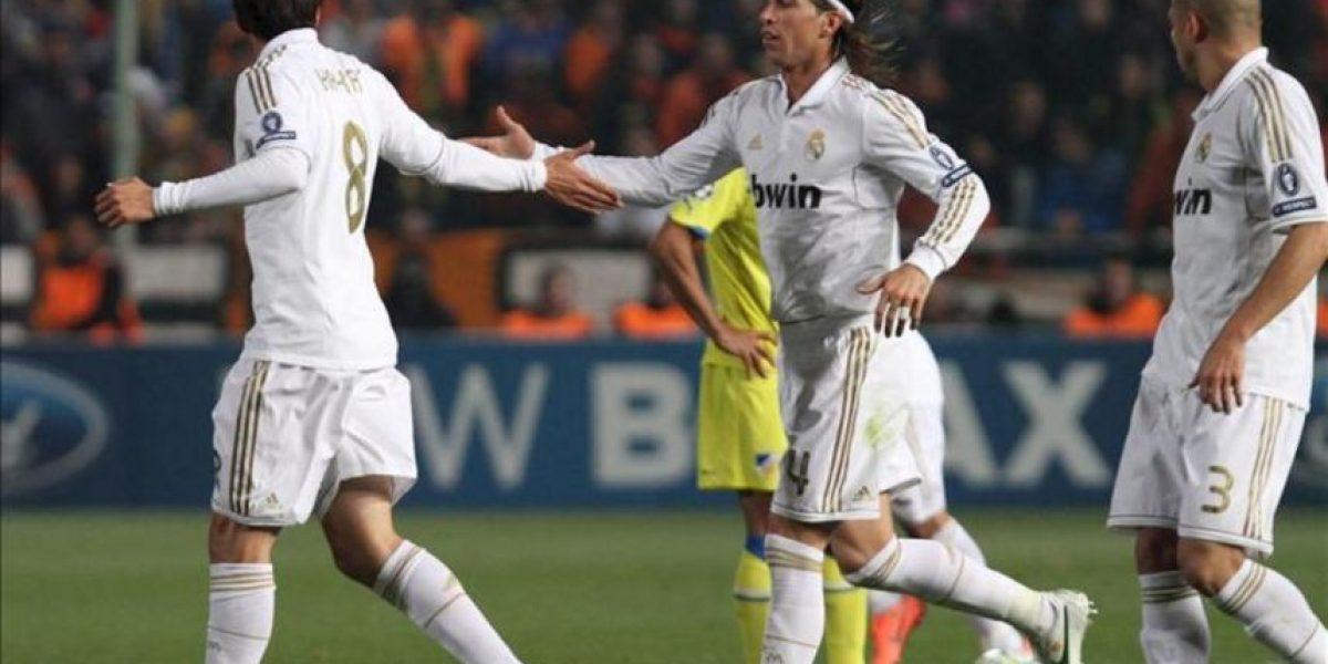 0-3. El Real Madrid pisa semifinales tras despertar al Apoel del sueño