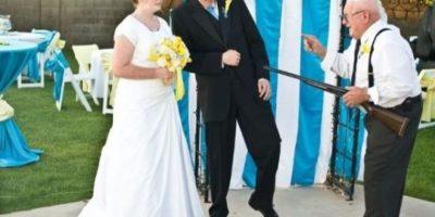 Graciosas imágenes de matrimonios muy locos