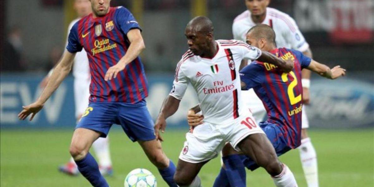 Un Barça ambicioso no puede con la mejor versión del Milan