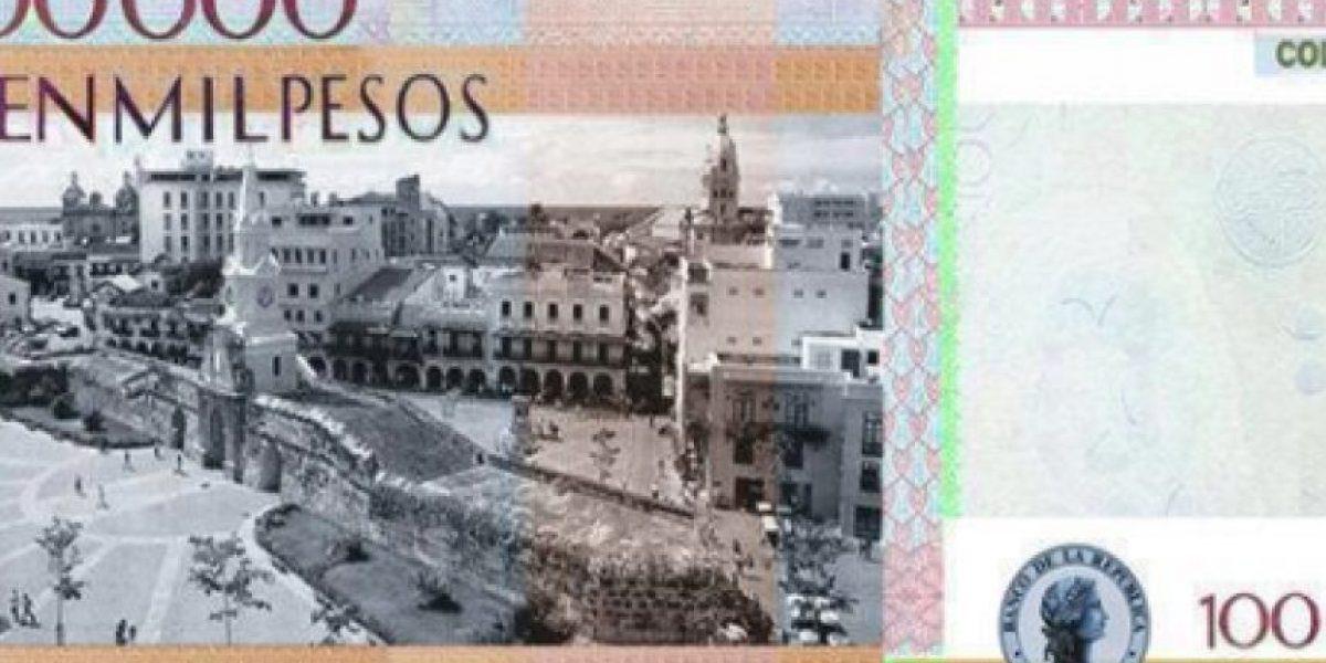 El nuevo billete de 100 mil