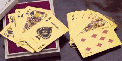 Cartas de oro solido. $5,167 dólares Foto:toxel.com