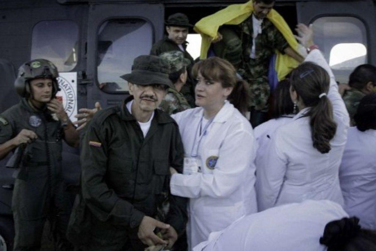 Intendente Jorge Humberto Romero Foto:AFP PHOTO / ICRC / BORIS HEGER