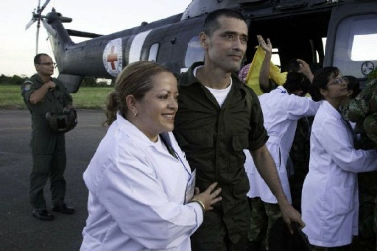 El Intendente Jorge Trujillo Solarte Foto:AFP PHOTO / ICRC / BORIS HEGER