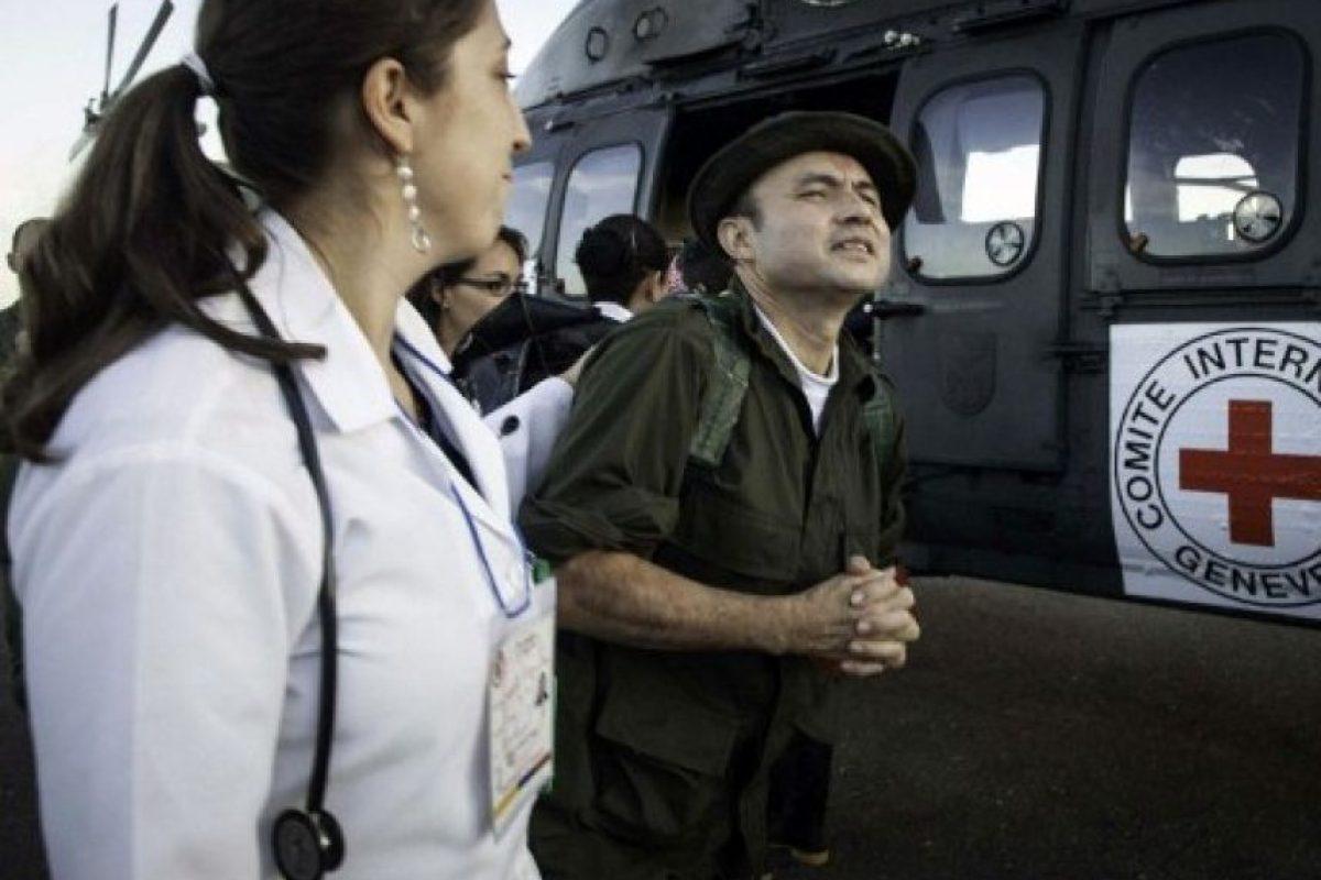 Sargento Cesar Augusto Lasso Foto:AFP PHOTO / ICRC / BORIS HEGER
