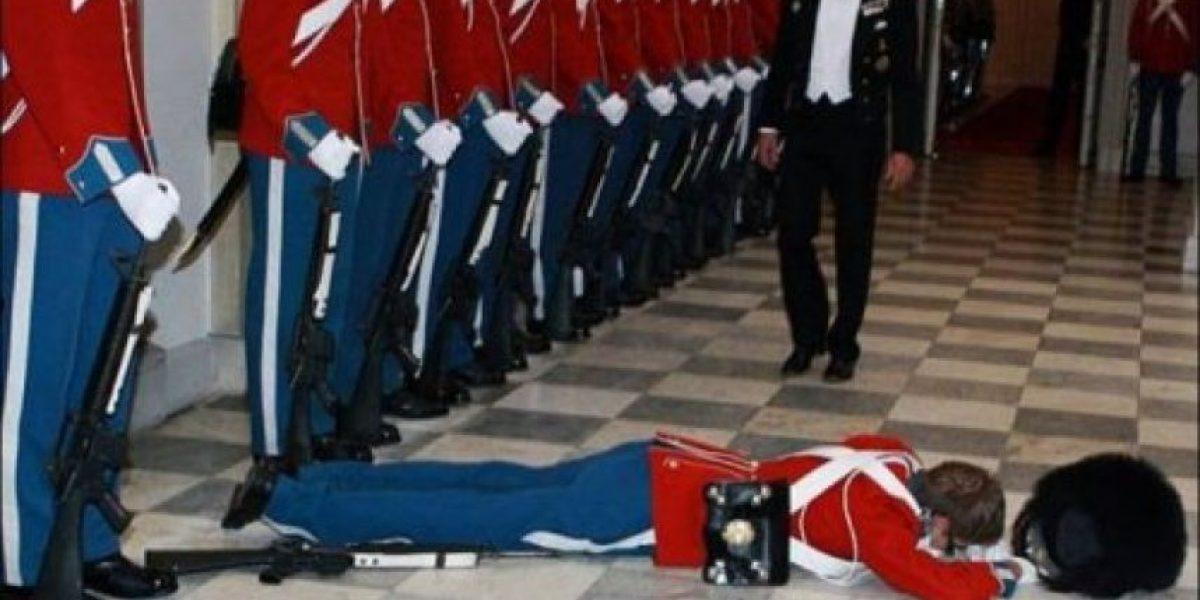 Los desmayos de la Guardia Real