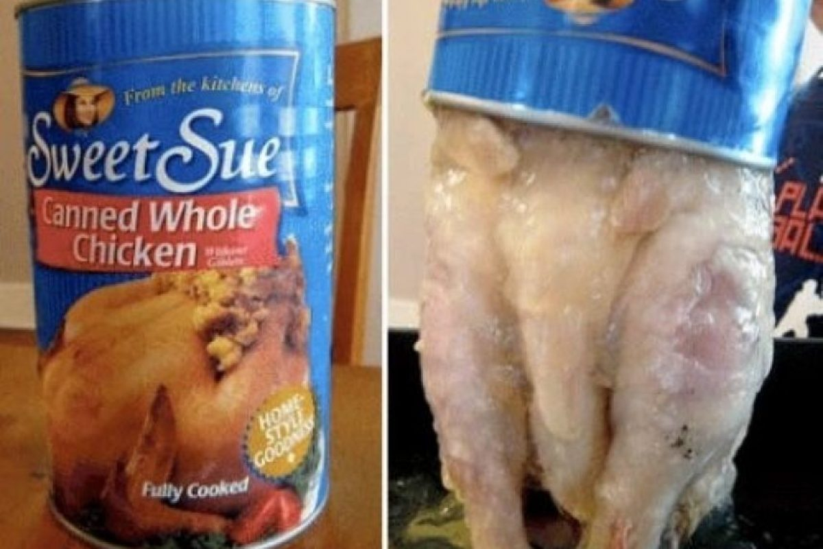 Un pollo entero Foto:Buzzfeed.com