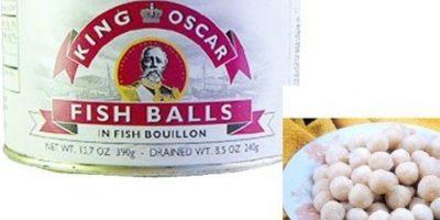 Bolas de pescado
