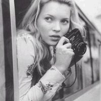 Kate Moss co Holga
