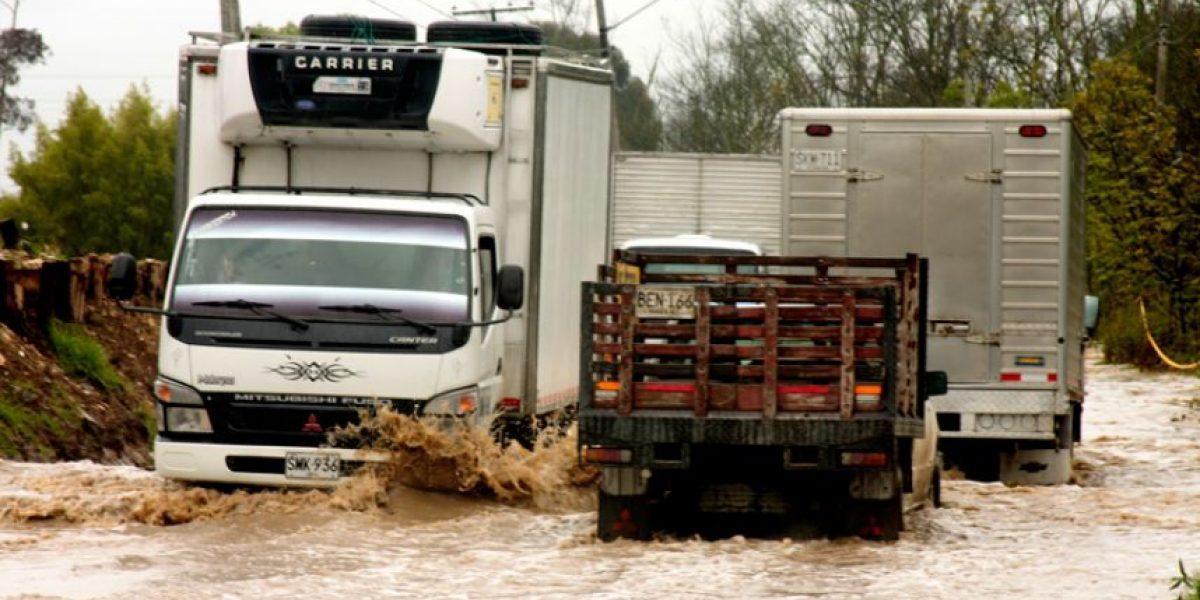 Inundaciones por el invierno en Bogotá