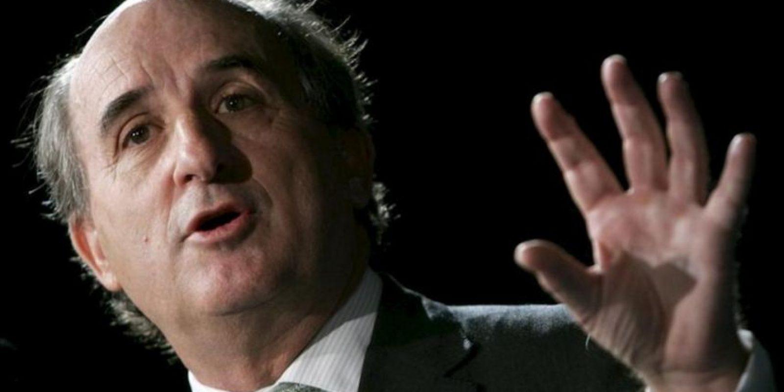 Antonio Brufau, presidente de Repsol YPF. EFE/Archivo