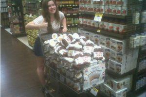 A la persona que va a comprar esa cantidad de Nutella Foto:Buzzfeed.com