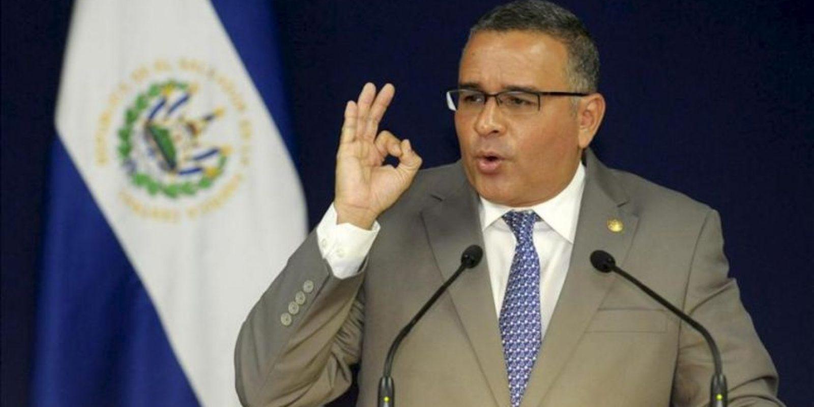 El presidente de El Salvador, Mauricio Funes. EFE/Archivo