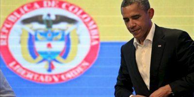 """Obama reitera que la despenalización """"no es la solución"""" en la lucha antidrogas. EFE"""