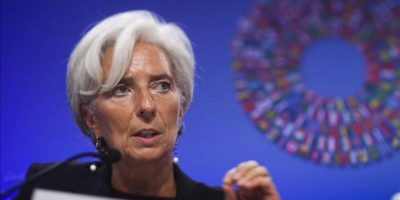 La directora gerente del Fondo Monetario Internacional (FMI), Christine Lagarde, dio la bienvenida al paso dado por el Banco Popular de China para ampliar la flexibilidad de su moneda. EFE/Archivo