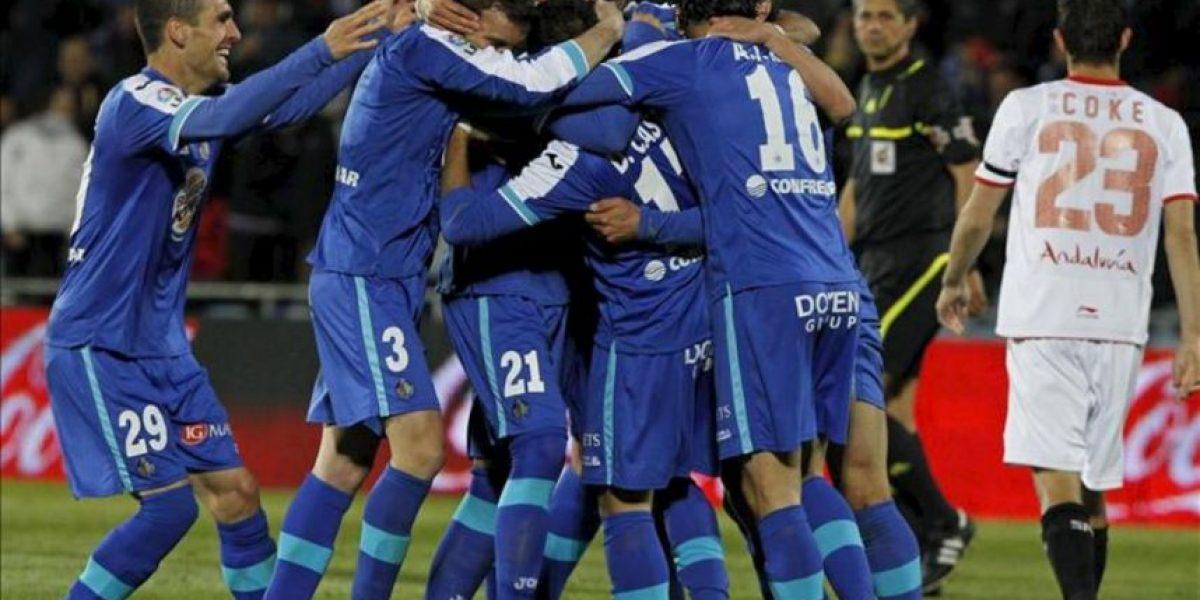 5-1. El Getafe humilla al Sevilla y se sube al carro europeo