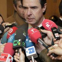 El ministro de Industria, Energía y Turismo, José Manuel Soria, hoy antes de la reunión del Consejo Español de Turismo. EFE