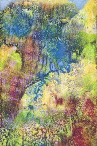 """Imagen facilitada por la Galería Gagosian de París de la obra de Max Ernst """"Microbe"""", (1946), que forma parte de una exposición que reúne obras en pequeño formato, a veces diminuto, firmadas por algunos de los más grandes artistas contemporáneos. EFE"""