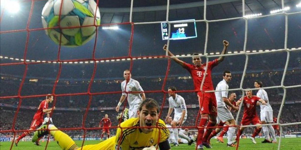 2-1. El Real Madrid tropieza en la maldición de Múnich