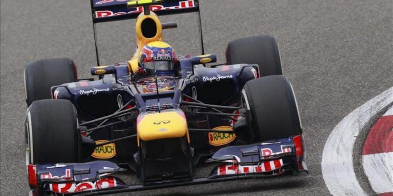 El piloto australiano de Fórmula Uno de la escudería Red Bull Mark Webber. EFE/Archivo