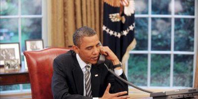 """Los dos hablaron """"brevemente"""" por teléfono y el presidente """"le deseó que esté bien"""", informó un portavoz de la Casa Blanca. EFE/Archivo"""