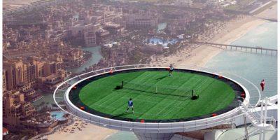 Tennis, Burj Al Arab, Dubai