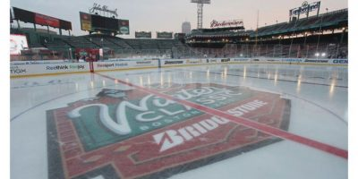Hockey, Fenway Park, Boston Foto:Buzzfeed.com