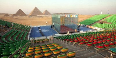 Squash, Piramides, Giza Foto:Buzzfeed.com