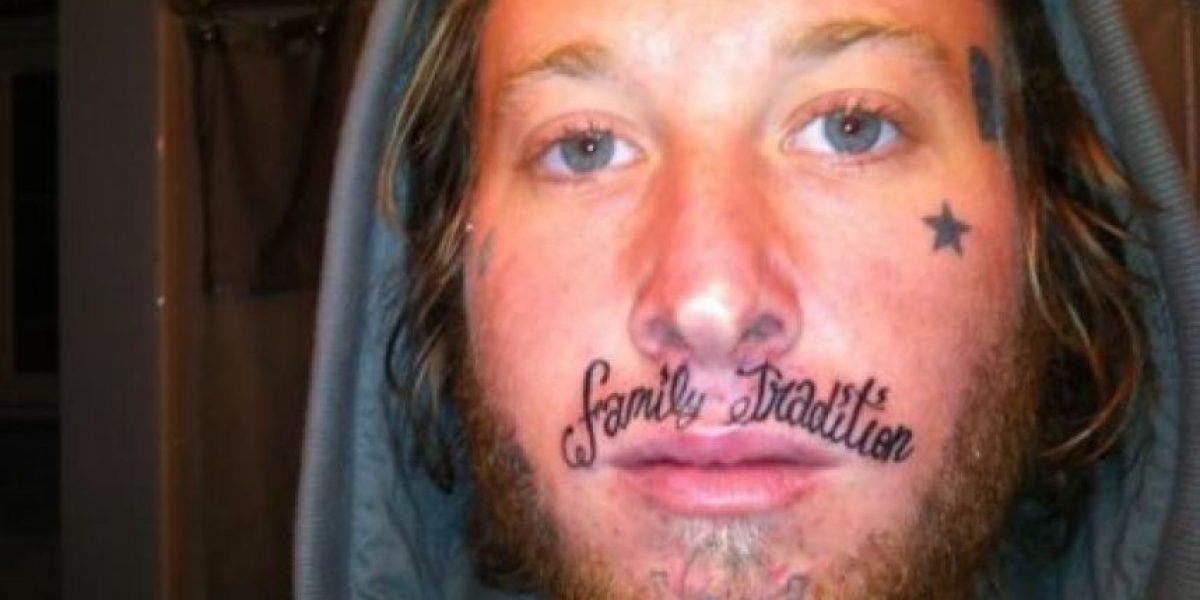 Sí... son tatuajes reales (infortunadamente)