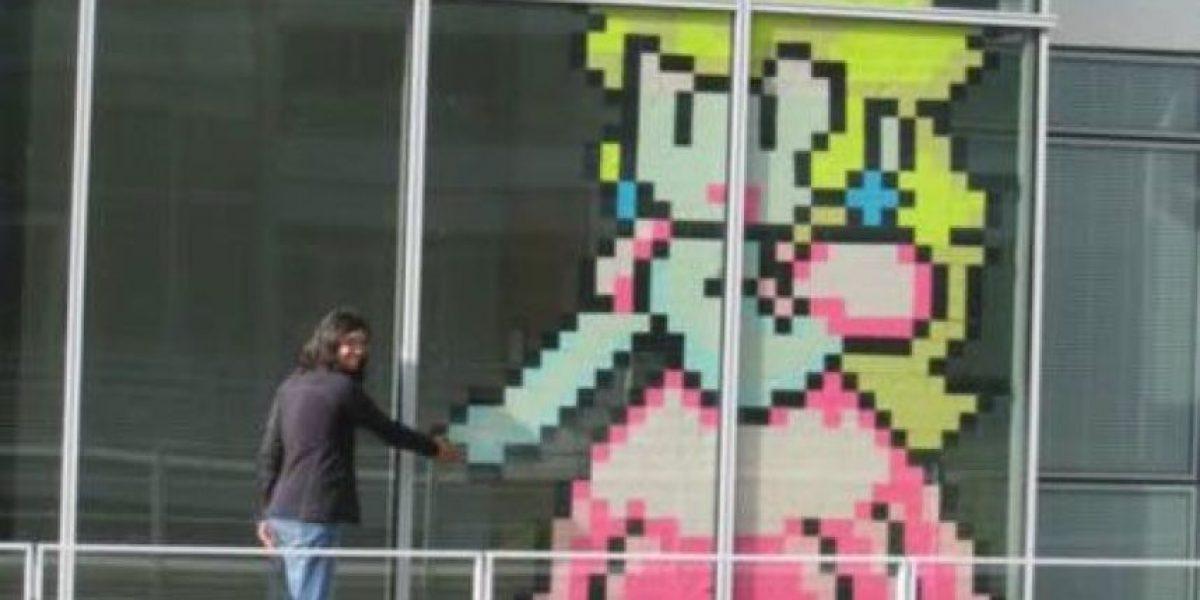 Arte en 8 bit con Post - it