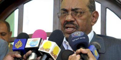 El presidente sudanés, Omar Hasan Al Bachir. EFE/Archivo