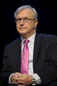 El comisario europeo de Asuntos Económicos, Olli Rehn. EFE/Archivo