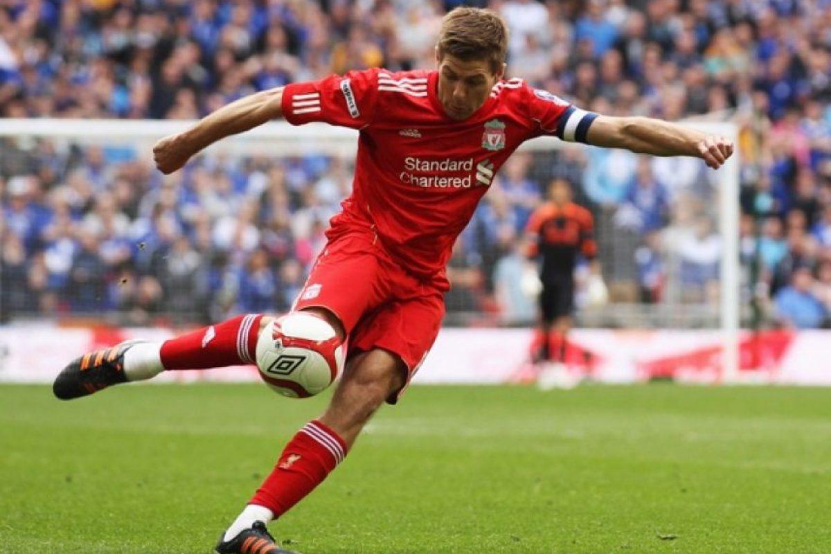 Steven Gerrard 16 mdd Foto:Getty Images