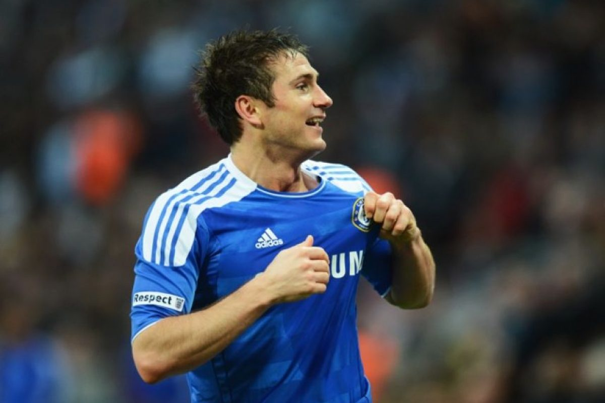 Frank Lampard 16 mdd Foto: Getty Images