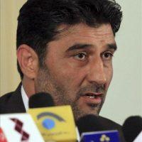El portavoz de los servicios de inteligencia afganos (NDS), Shafiqullah Tahiri, ofrece una rueda de prensa hoy en Kabul. EFE