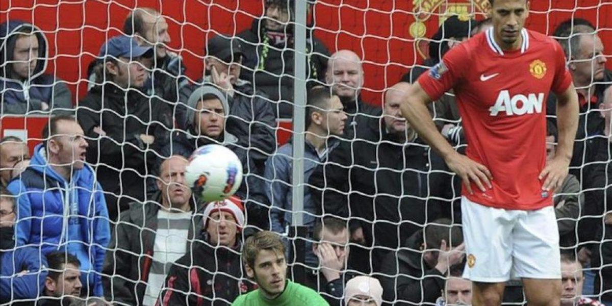 El Manchester United se deja dos puntos ante el Everton y da aire al City