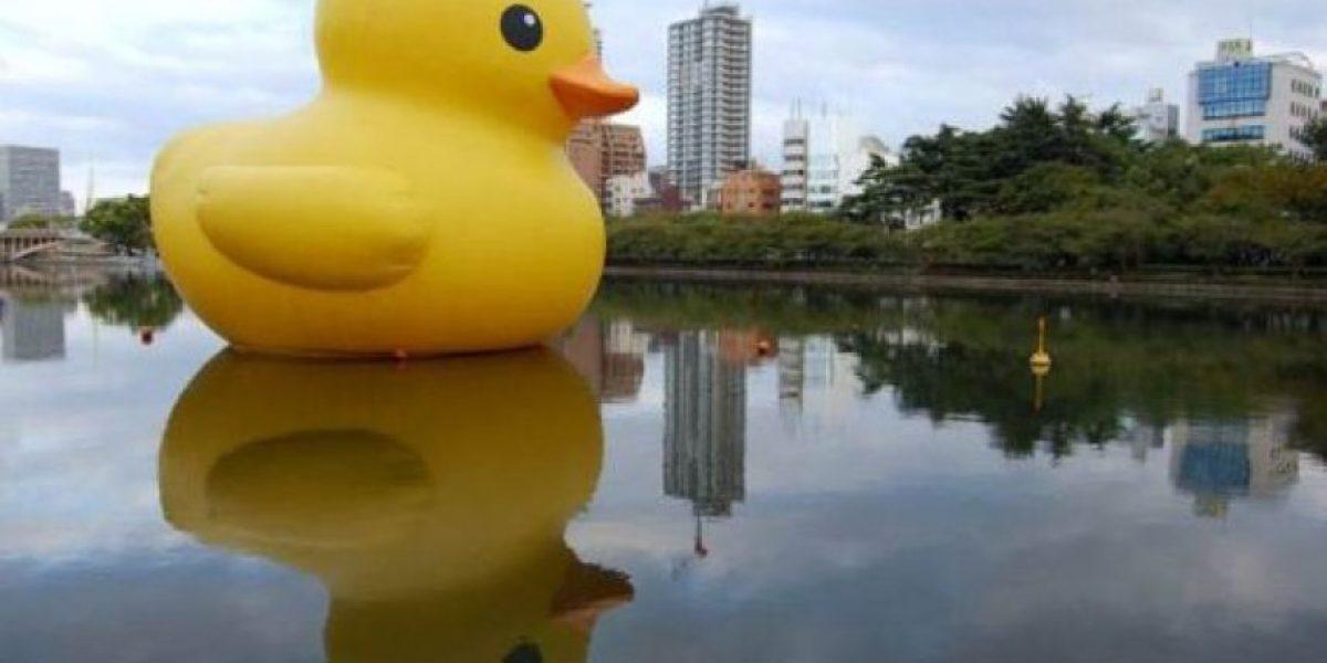 El viaje por el mundo de un pato gigante