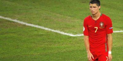 En la Eurocopa de 2008, tras el tercer gol de Alemania en cuartos de final. Foto:AFP