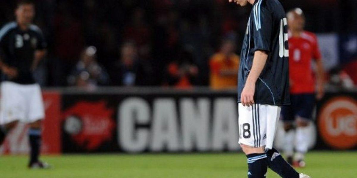 [Galería] Las derrotas de Messi