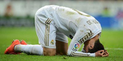 Real Madrid contra el Valencia FC este año por la Liga. Foto:Getty Images