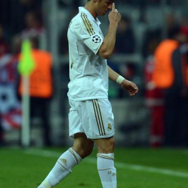 Hoy en el Bernabéu. Foto:Getty Images