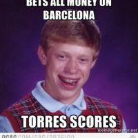 Apuesta al Barcelona y Torres anota