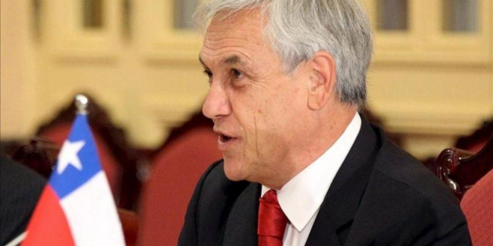 """El presidente chileno, Sebastian Piñera, indicó: """"Vamos a pedir un esfuerzo adicional a las empresas para financiar de forma permanente, seria y responsable esta gran reforma educacional"""". EFE/Archivo"""