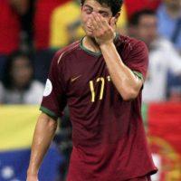 En el Mundial de 2006 tras la derrota contra Francia en la semifinal. Foto:Getty Images