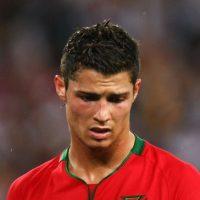 En la final Eurocopa 2008. Derrota de Portugal, de nuevo contra Francia. Foto:Getty Images