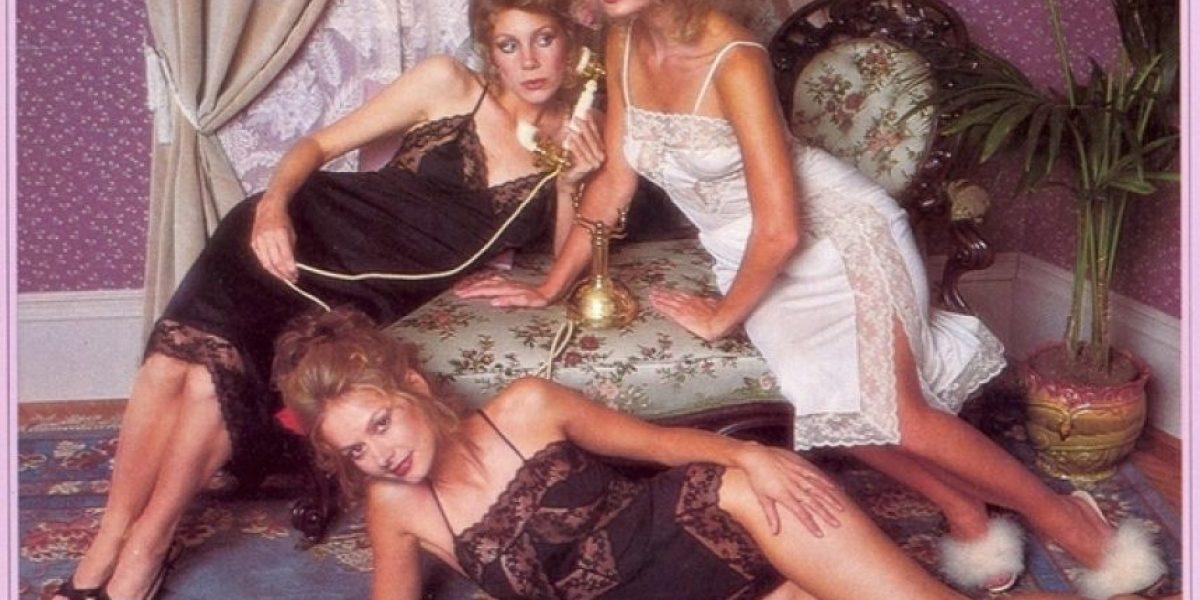 Sexys modelos de Victoria's Secret en catálogo de 1979