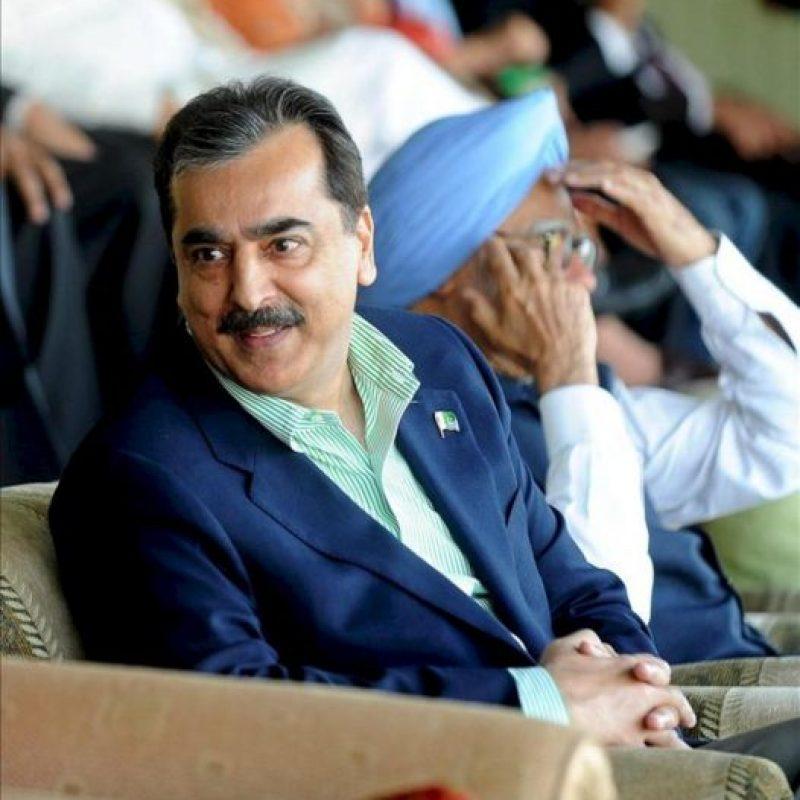 El primer ministro paquistaní Yusuf Razá Guilani. EFE/Archivo